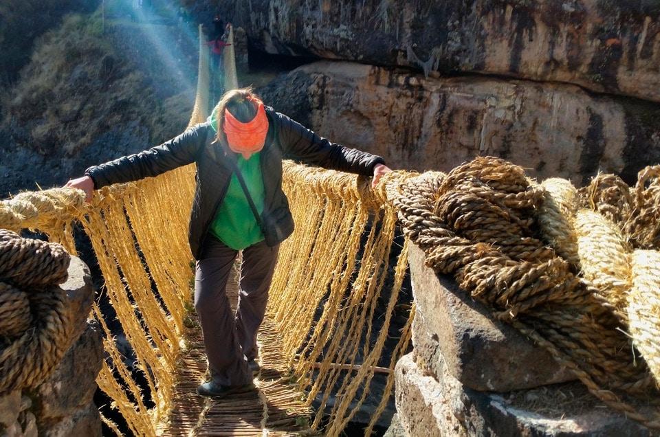 Wycieczki do Peru i zwiedzanie inkaskiego mostu Qeswachaka