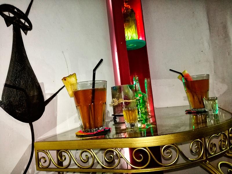 Ziołowe herbatki w Cusco Peru