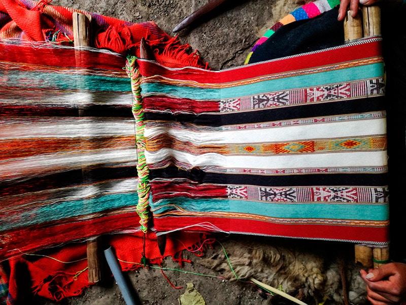Rękodzieło z Peru