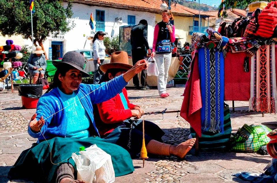 Pamiątki i prezenty z Peru