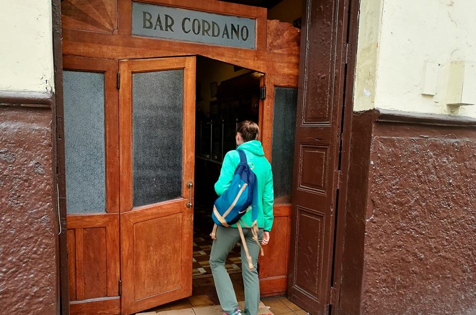 Bar Cordano w Limie Peru wycieczki