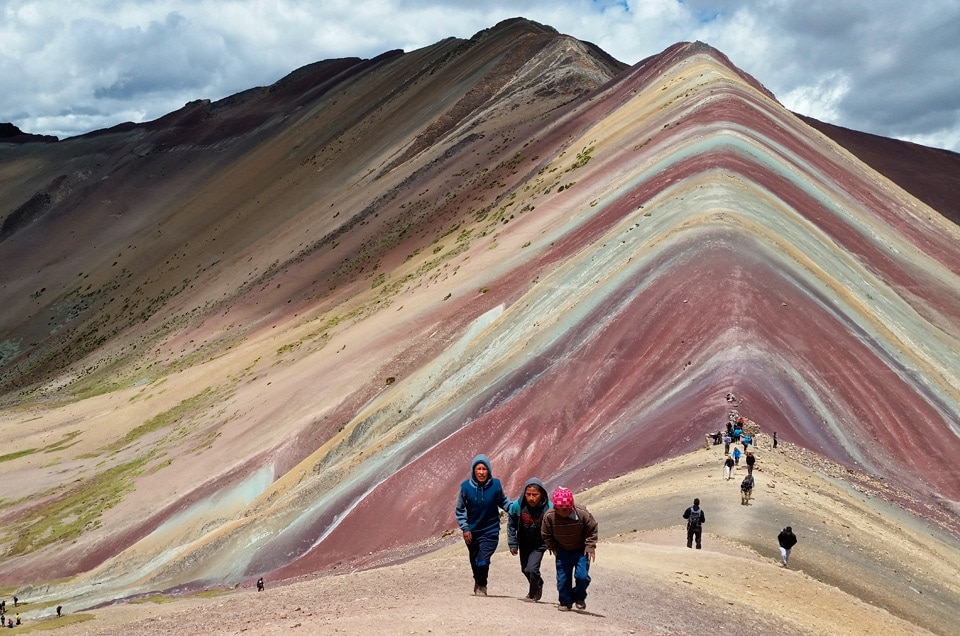 Hitowe trekkingi w Cusco, czyli rainbow mountain trek