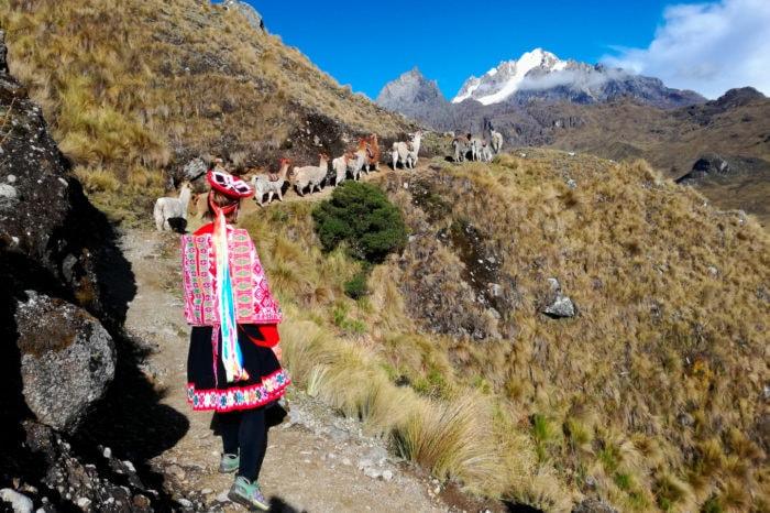 Lares Patacancha trekking, deep into Andes