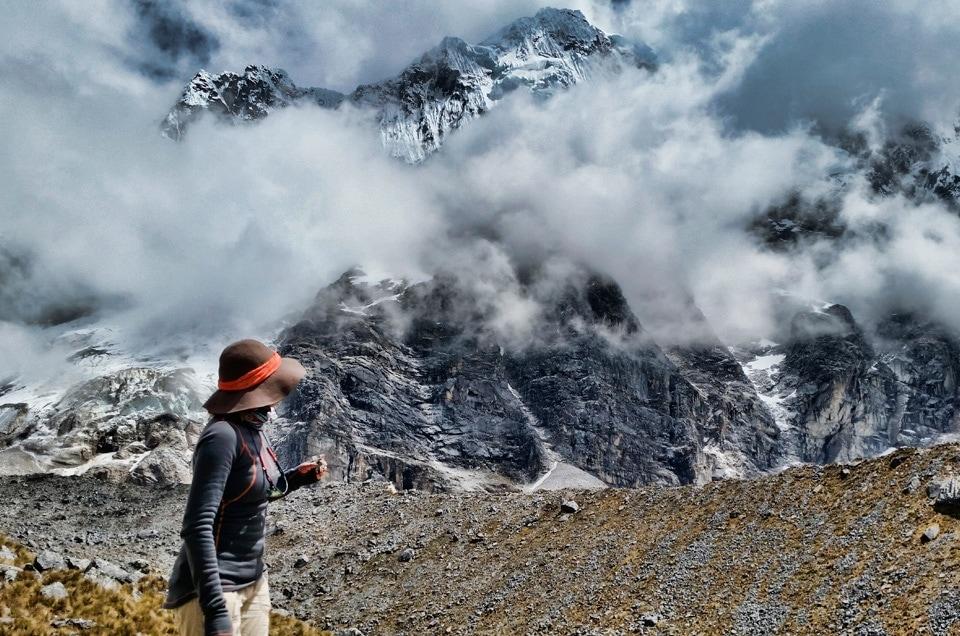 Andy w Peru trekkingi
