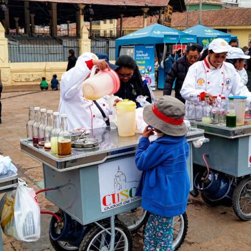 Trunki w Peru i emoliente