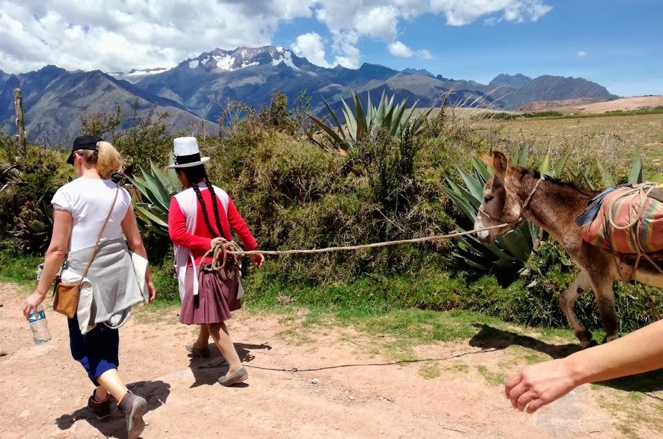 Trekking do kopalni soli Peru