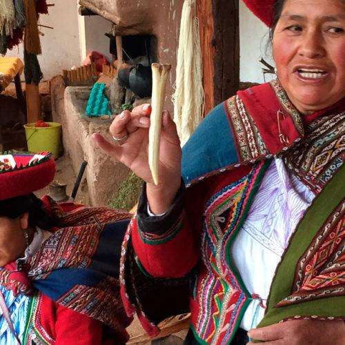 Zwiedzanie Chinchero w regionie Cuzco. PerƗy poƗudniowego Peru wycieczka