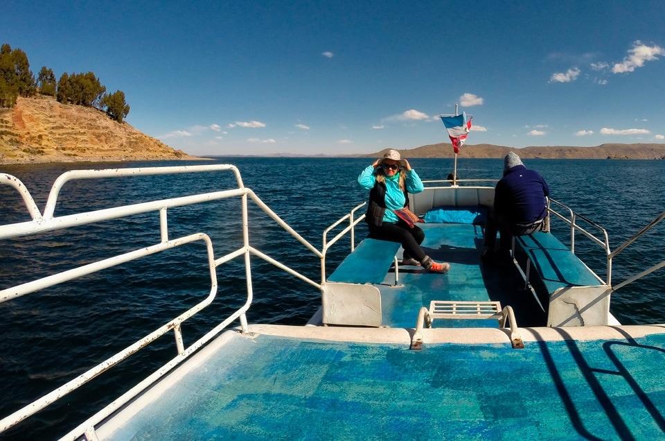 Puno i jezioro Titicaca w Peru