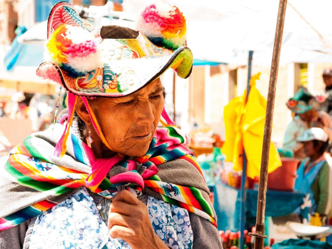 PóƗwysep Capachica w Peru
