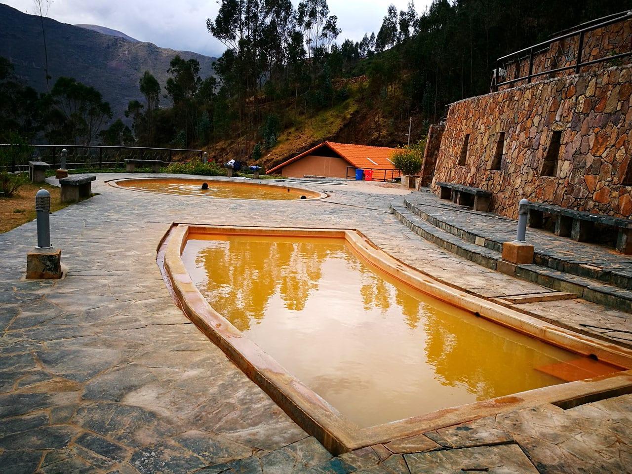 Lares Gorące źródƗa w Peru