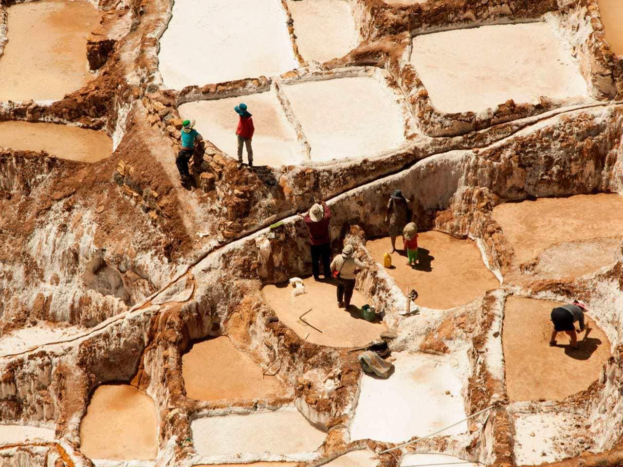 Salineras de maras w Peru
