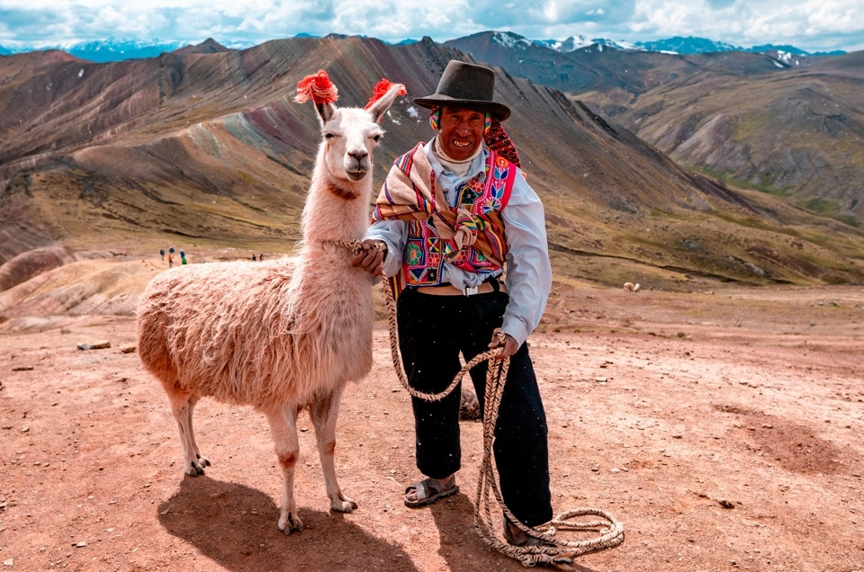 The Rainbow Mountains in Cusco and Biking in the Andes