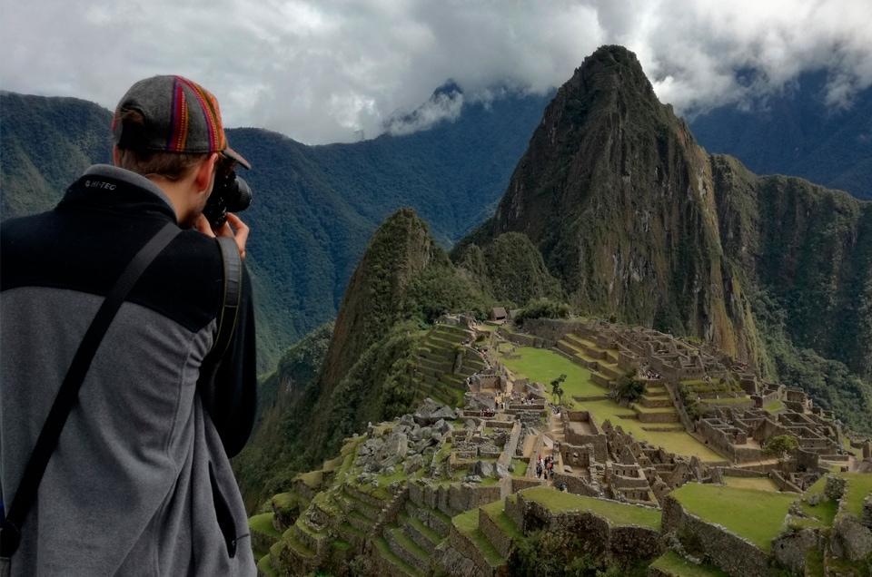 Machu Picchu w Peru