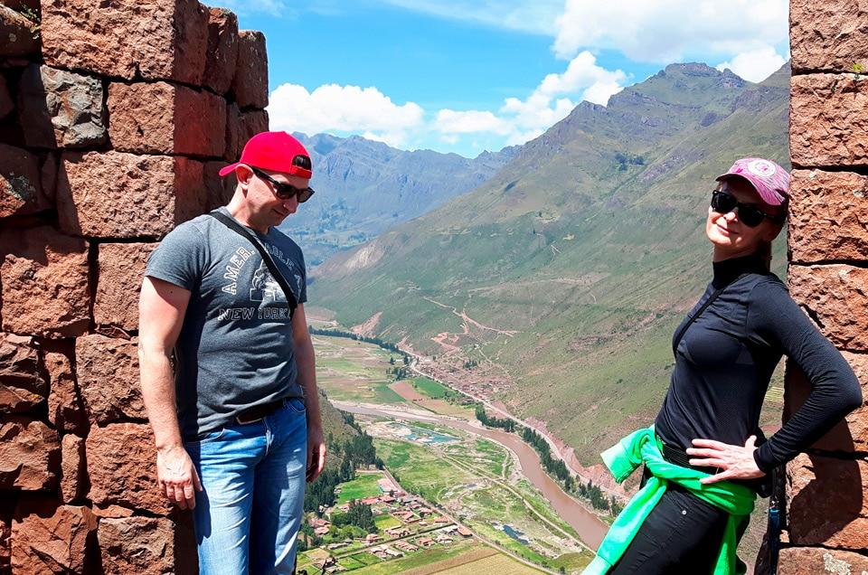 Inkaskie ruiny w Pisac