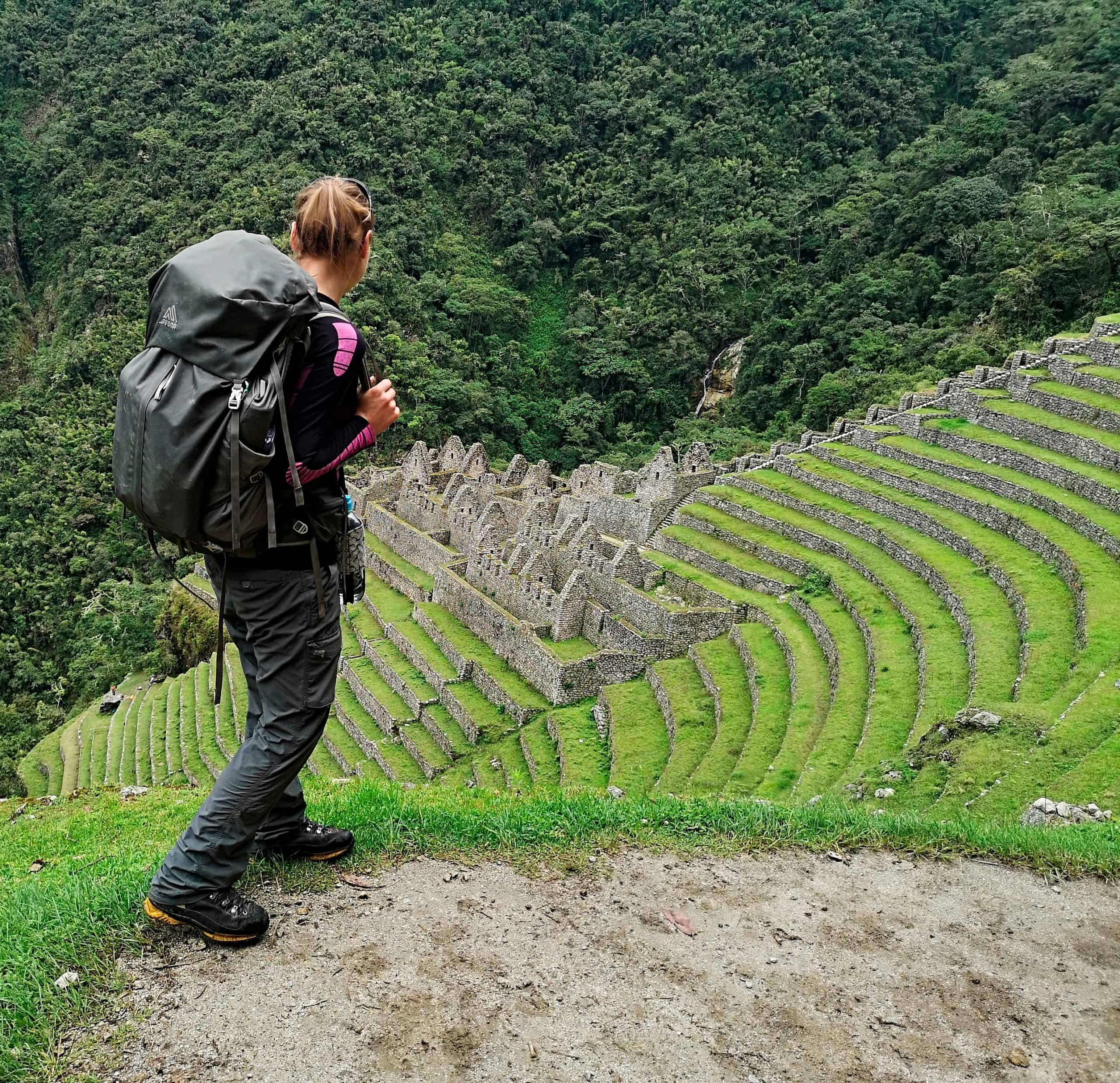 Inca Trail do Machu Picchu w Peru