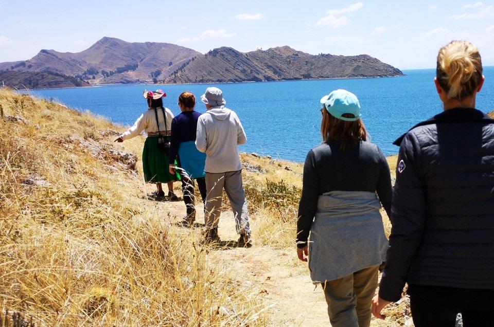 Trekking jezioro Titicaca w Peru i wyspa Ticonata