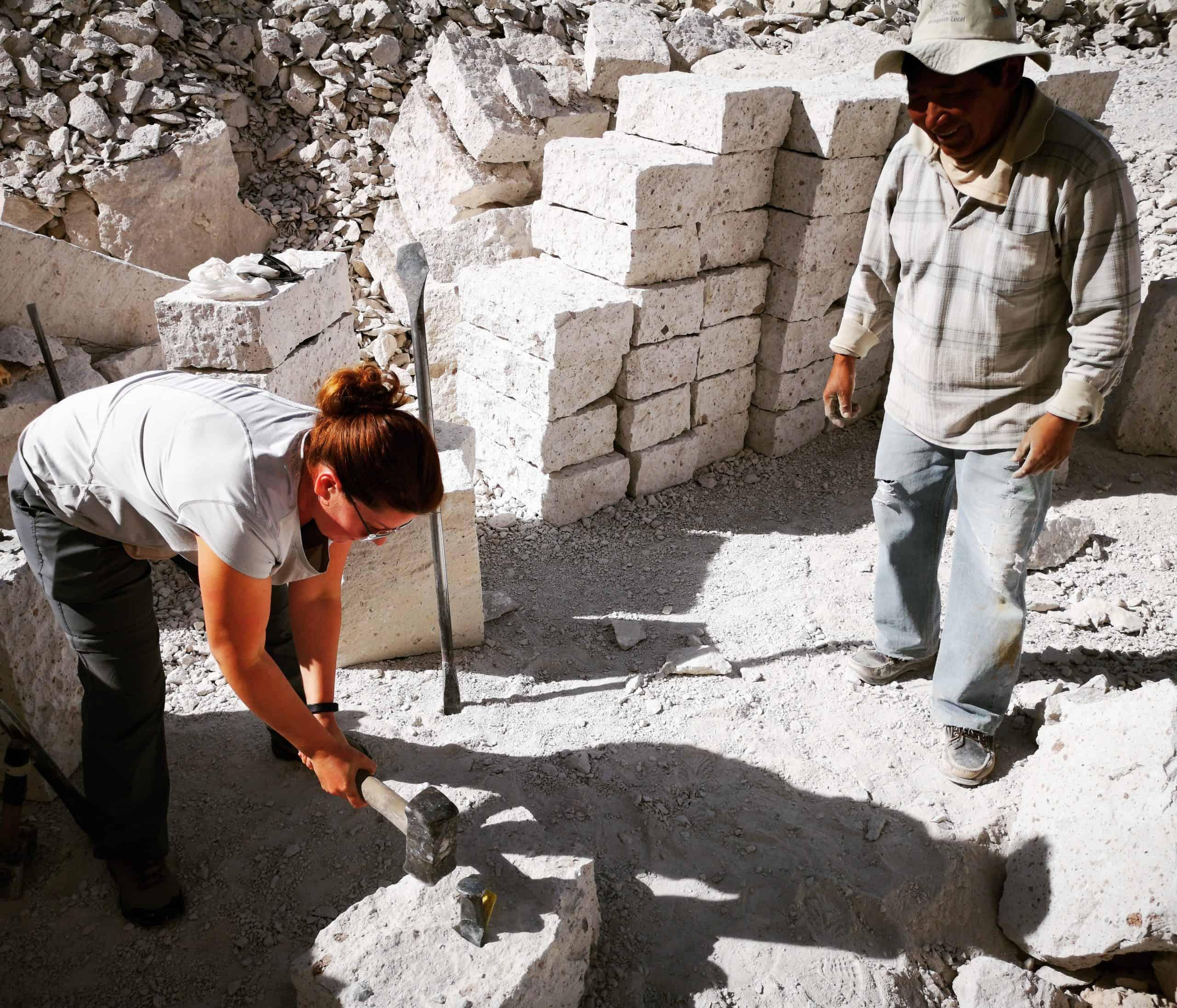 Kamieniołomy Sillar w Arequipa