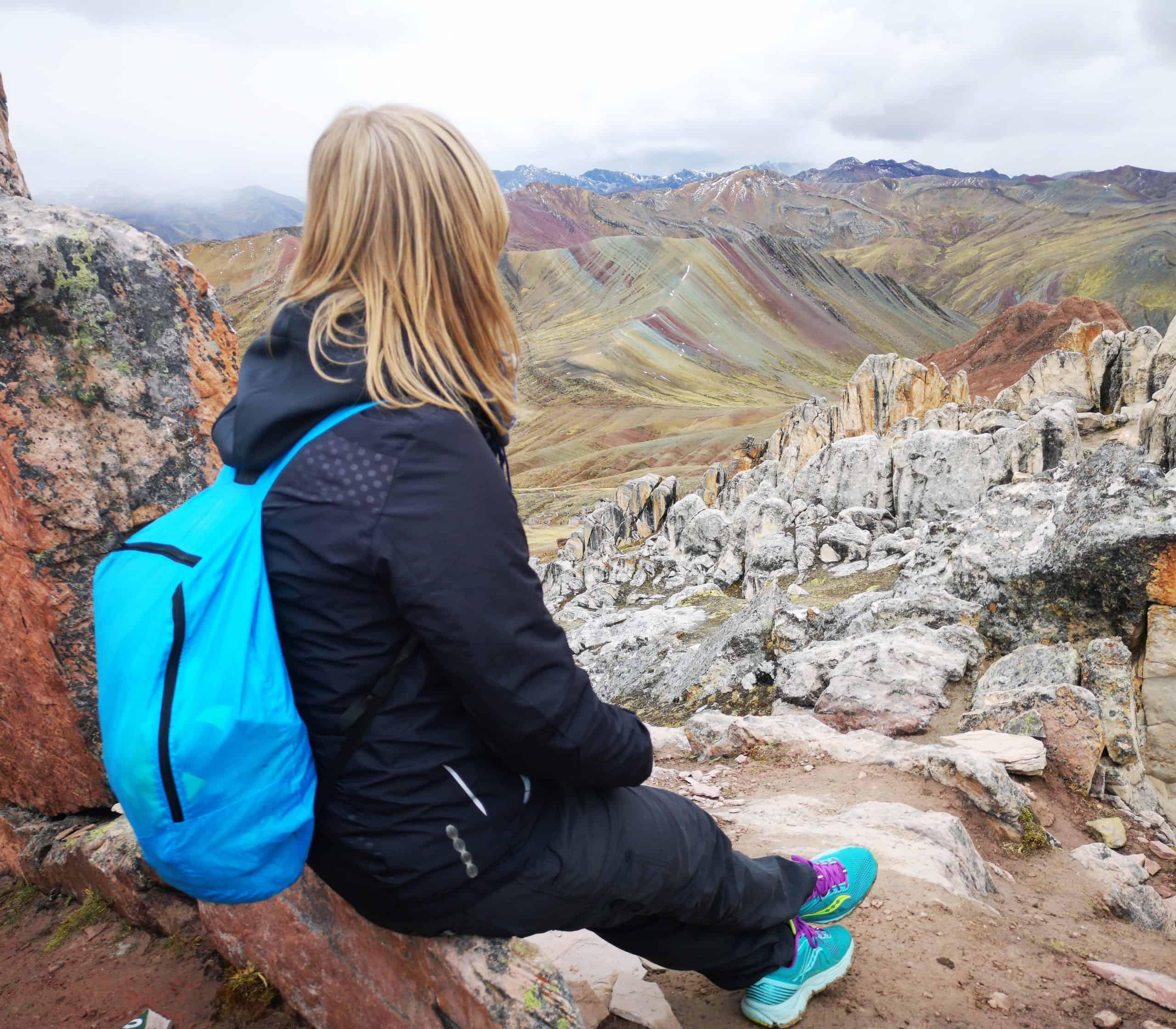Tęczowe Góry Palcoyo w Peru