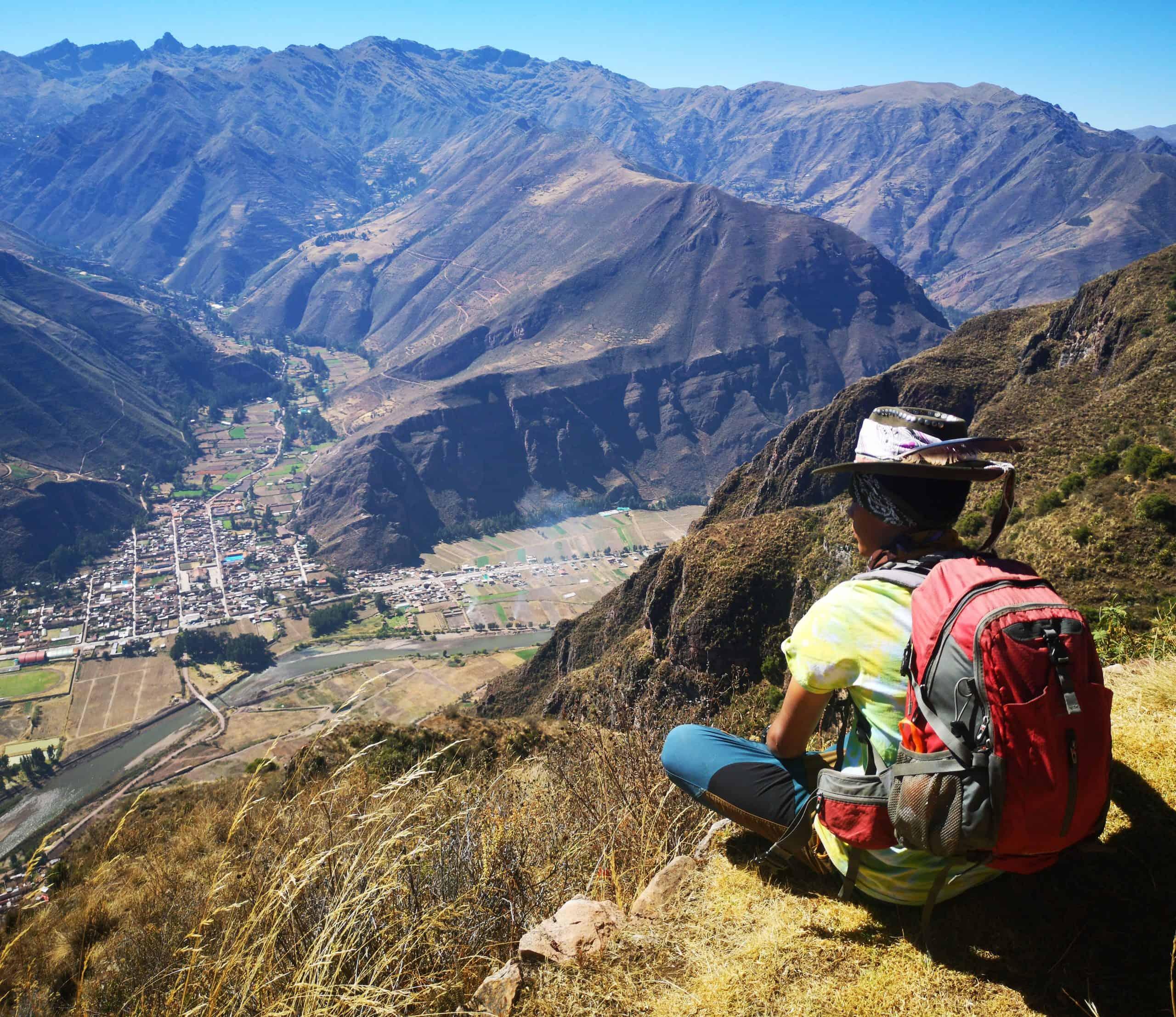 Inkaskie szlaki do ruin w Huchuy Qosqo oraz w Pisac