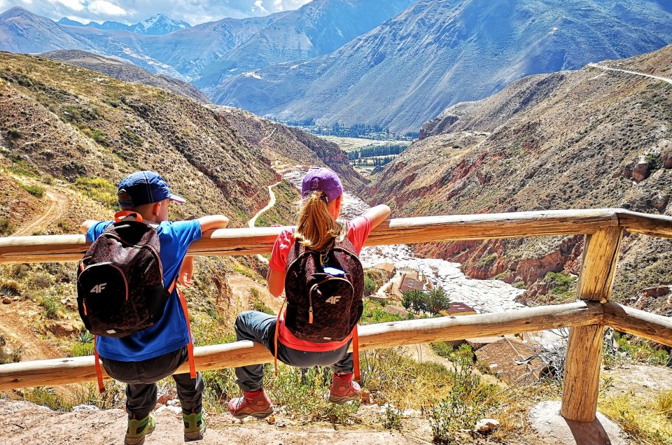 Exotic trips with kids through Peru
