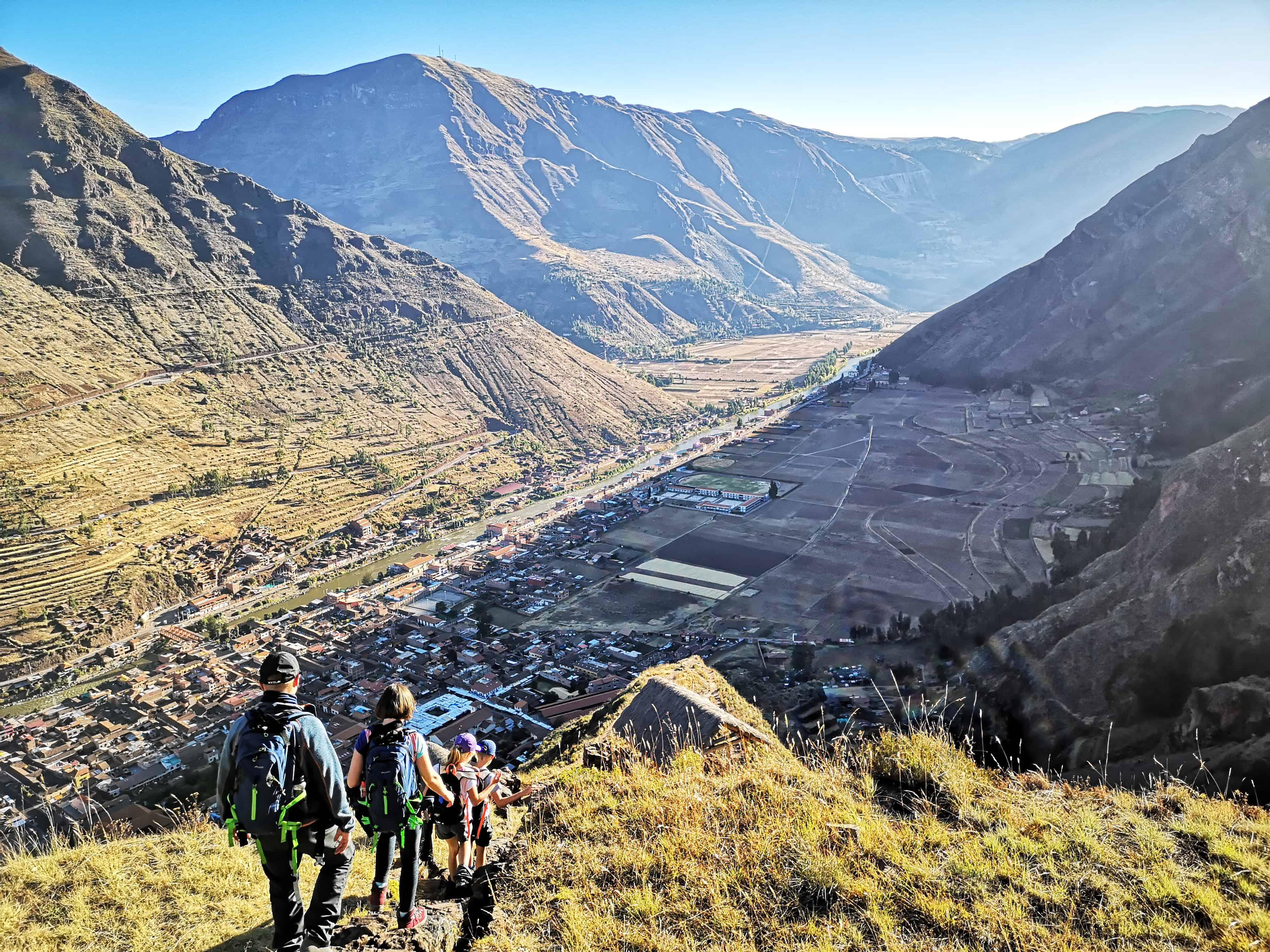 Trekking z dziećmi po Peru