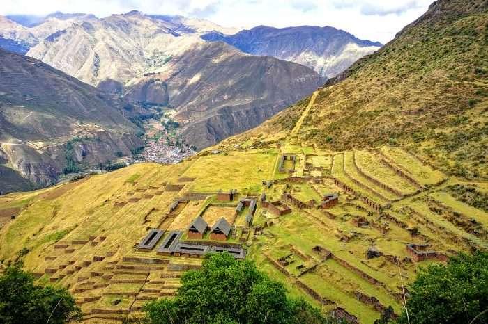 Inkaski szlak do Huchuy Qosqo. Tramping