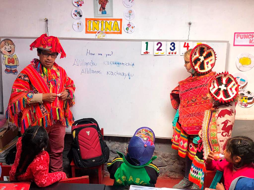 Wakacje z dziećmi w Cusco
