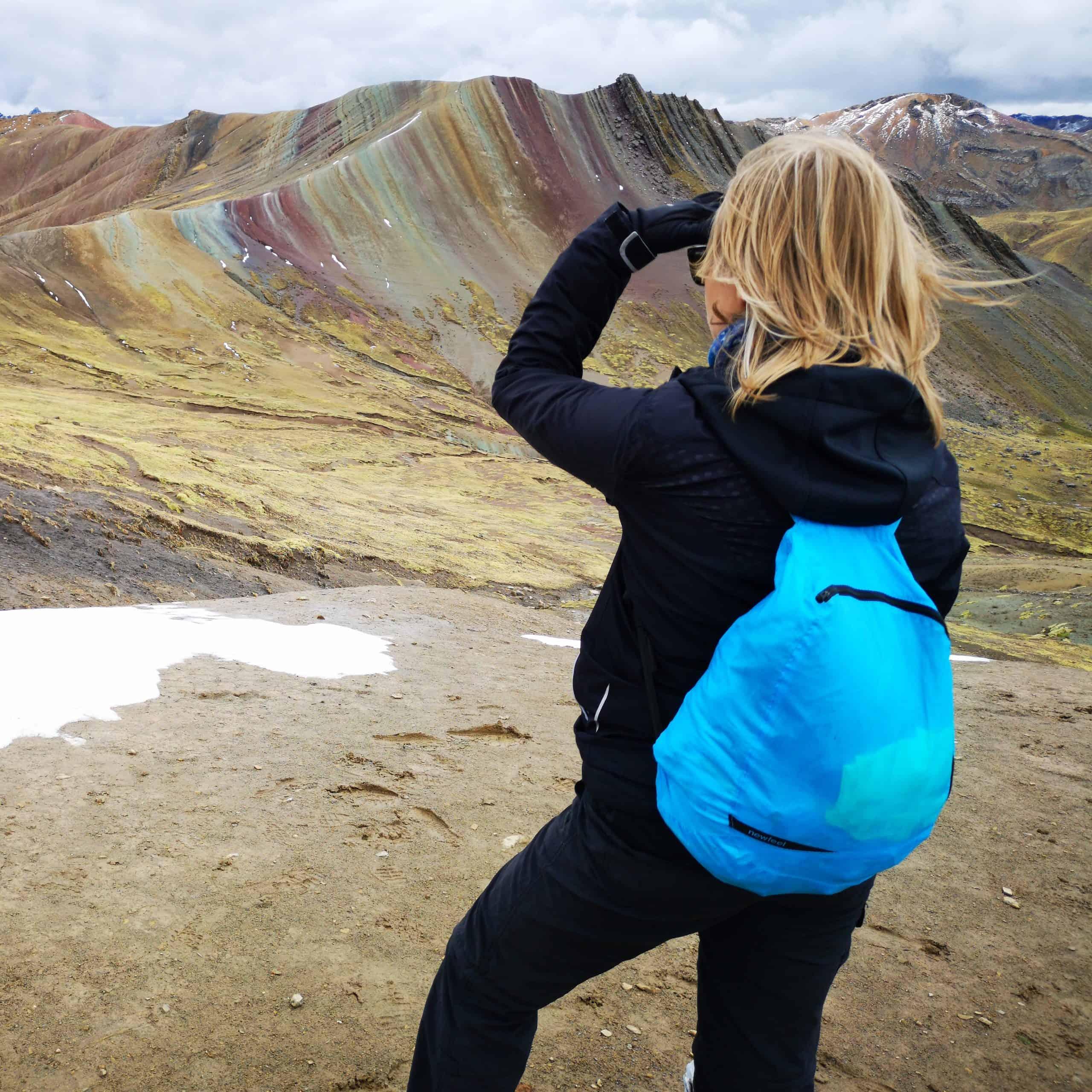 Vinicunca & Palcoyo tęczowe góry w Peru Cusco region