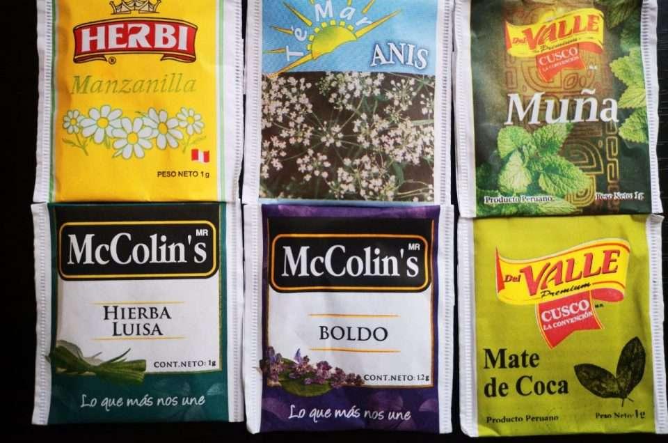 Co piją Peruwiańczycy, jakie herbaty tu kupicie?